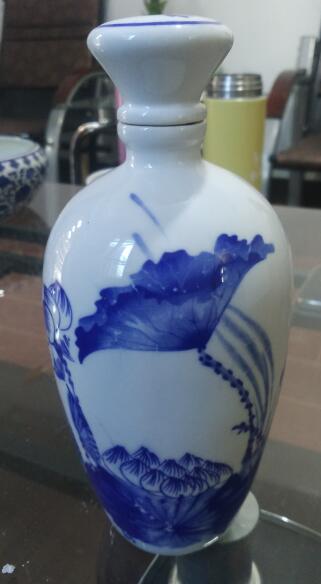 瓶网24小时帮助中心:找 1斤青花瓷酒瓶仿手绘图片 有困难,咨询专家免费为你查找